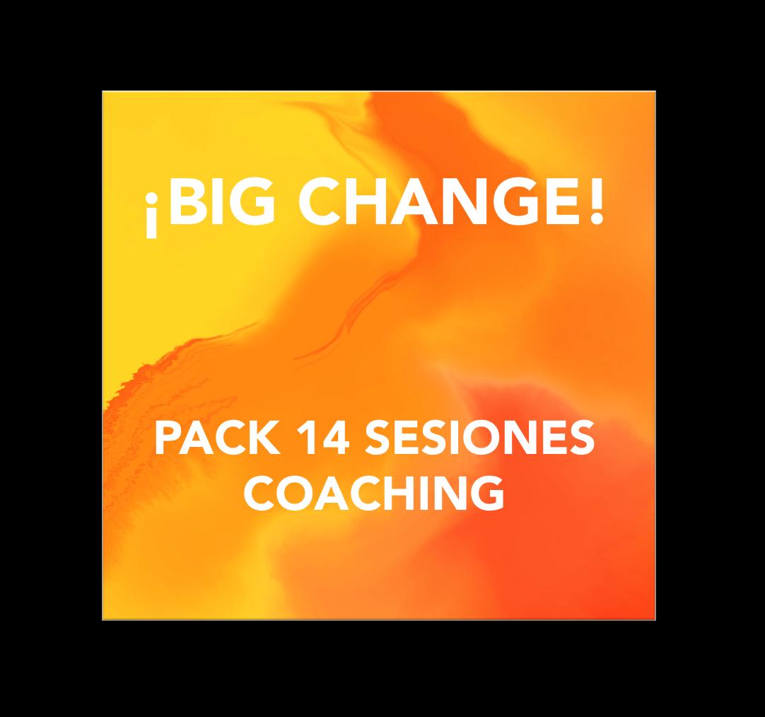 ¡Tu Gran Cambio! Pack 14 sesiones